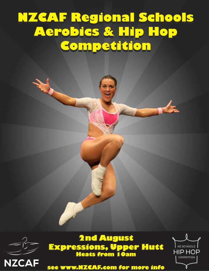 2015 Wellington Aerobics Poster