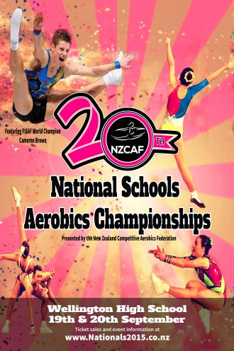 2015 Aerobics Poster